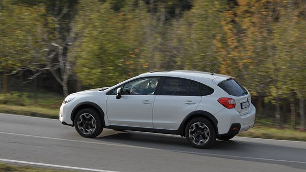Subaru XV Exterieur Dynamisch Seite