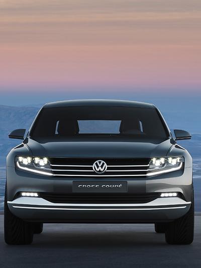 VW Cross Coupe Exterieur statisch Front