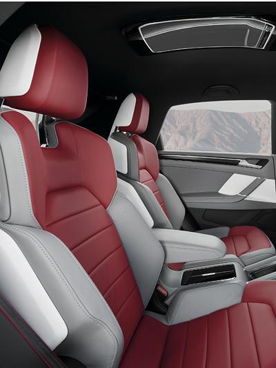 VW Cross Coupe Interieur