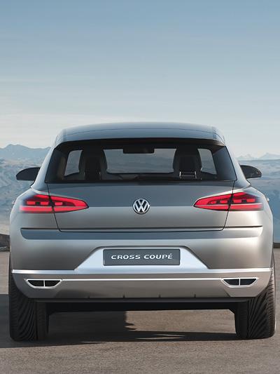 VW Cross Coupe Exterieur statisch heck