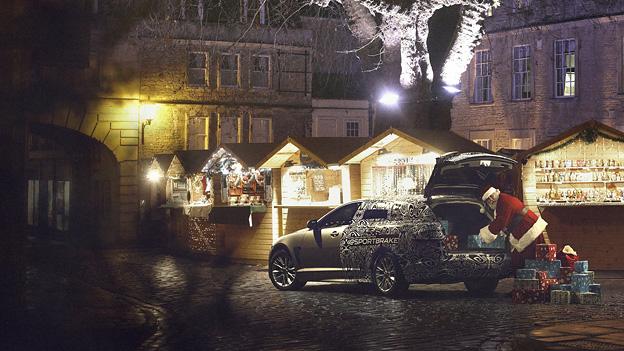 Jaguar XF Exterieur Statisch Heck seite Erlkönig