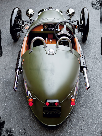 1931 Was noch geschah Zeitmaschine Morgan Threewheeler