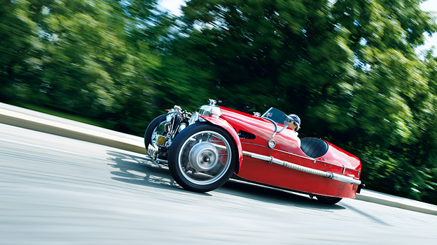 Morgan Threewheeler 1931 Zeitmaschine
