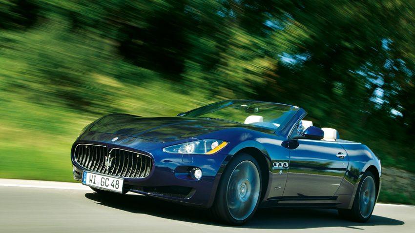 Maserati Gran Cabrio: 37,2 Grad am Morgen