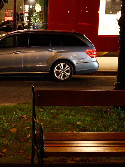 Mercedes ET Detail