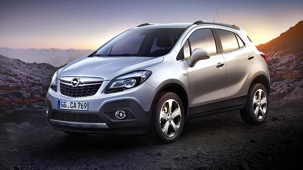 Opel Mokka Exterieur Statisch