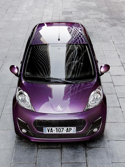 Peugeot 107 Exterieur