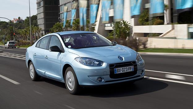 Renault Fluence Kangoo ZE Elektroantrieb Elektroauto