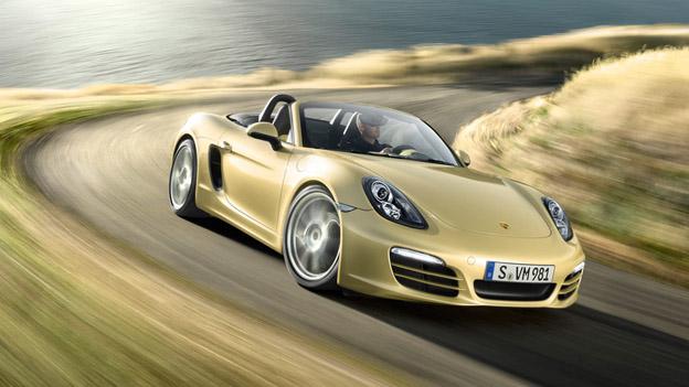 Porsche Boxster dyn vore