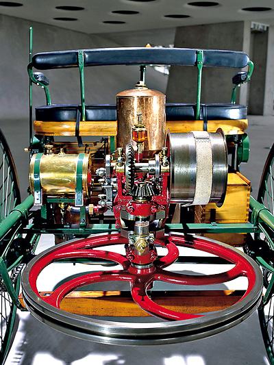 1886 Benz Motorwagen Zeitmaschine