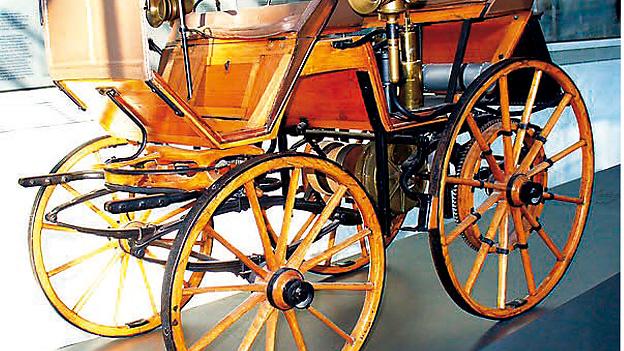 1886 Zeitmaschine Benz Motorwagen Nummer 1 Gottlieb Daimler