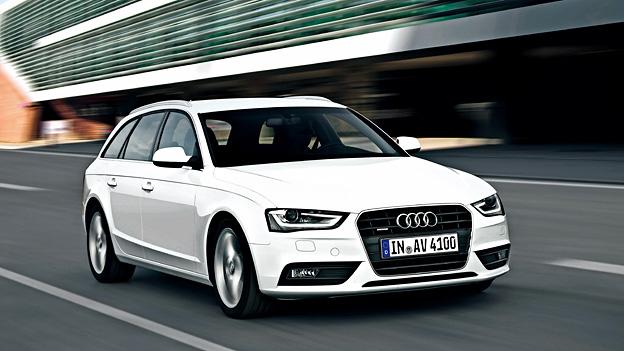 Audi A4 Facelift Exterieur