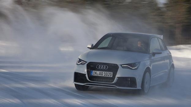 Audi A1 quattro driften Stig Blomqvist