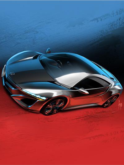 Honda NSX Concept Exterieur Statisch