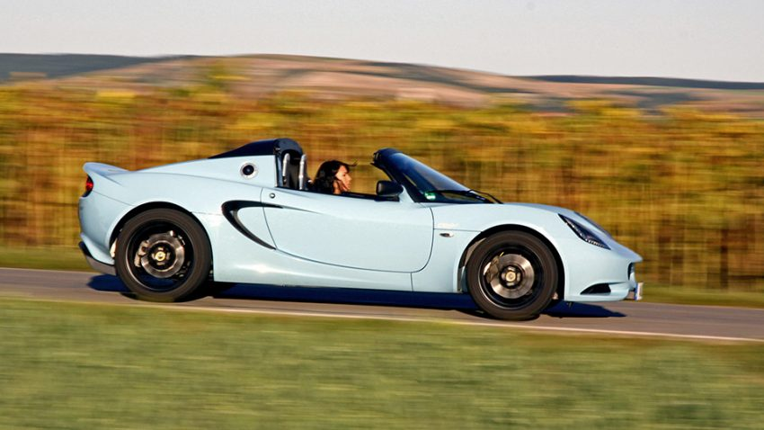 Lotus Elise Clubracer: Little Britain