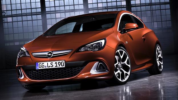 Opel Astra OPC Exterieur Statisch
