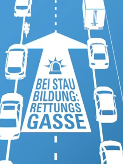 Rettungsgasse Blog Martin Strubreiter Screenshot Video