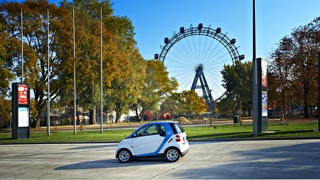 car2go Wien carsharing
