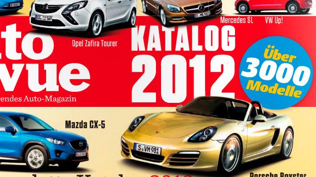 Autorevue Katalog 2012 - alle Autos, die 2012 in Österreich erhältlich waren
