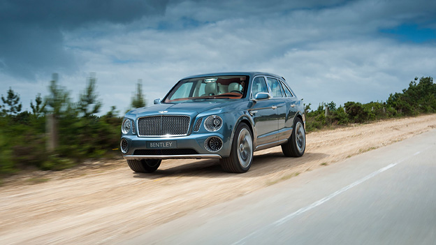 Bentley SUV EXP 9F 9 F