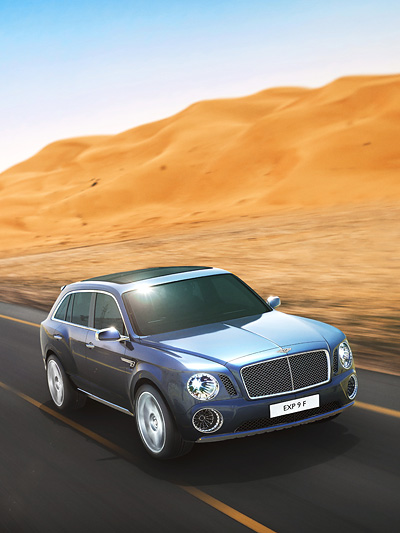 Bentley SUV Concept EXP9F