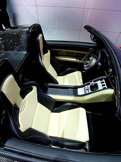 Roding Roadster Interieur