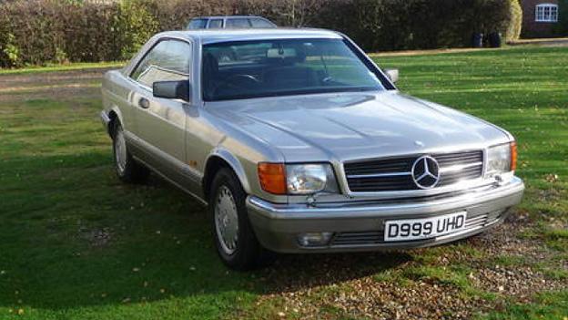 Gebrauchtwagen Mercedes-Benz 560 SEC 1985
