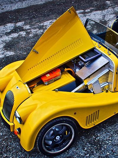 Elektroauto Morgan Plu E Plus 8
