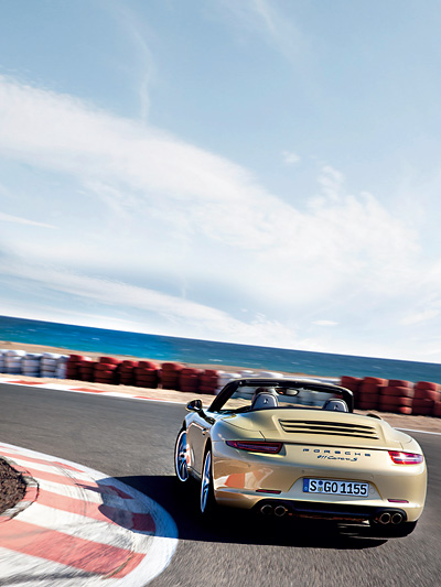 Porsche 911 Carrera Cabrio 991 2012