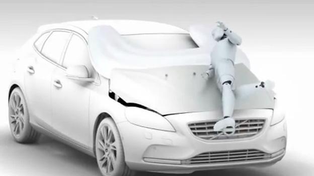 Volvo V40 Airbag Video