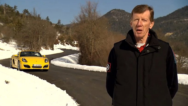 Walter Röhrl Porsche Boxster S Video