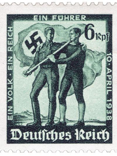 Steyr 55 Baby Oldtimer 1938 Gebrauchtwagen Nazi Hitler Österreich Briefmarke