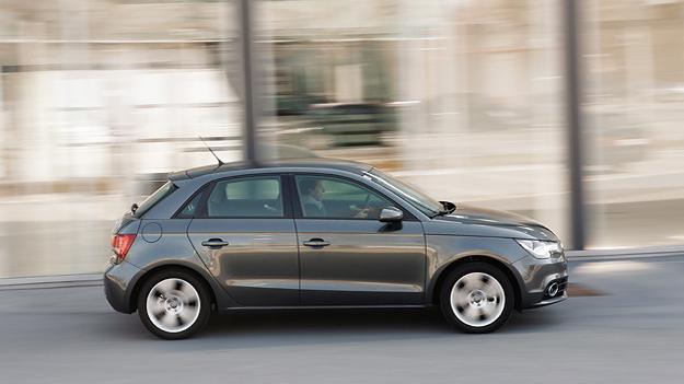 Audi A1 Sportback 1,4 TFSI Ambition Seitenansicht