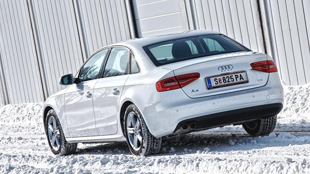 Audi A4 2,0 TDI Heck