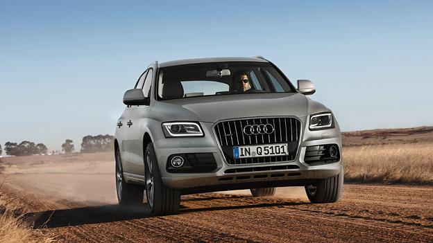 Audi Q5 Facelift 2012 Front