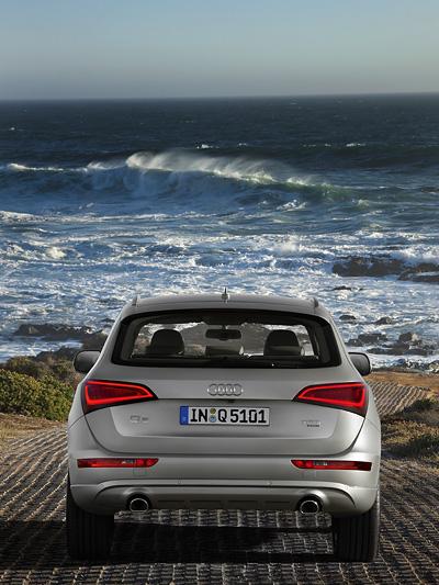 Audi Q5 Facelift 2012 Heck
