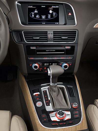 Audi Q5 Facelift 2012 Innenraum