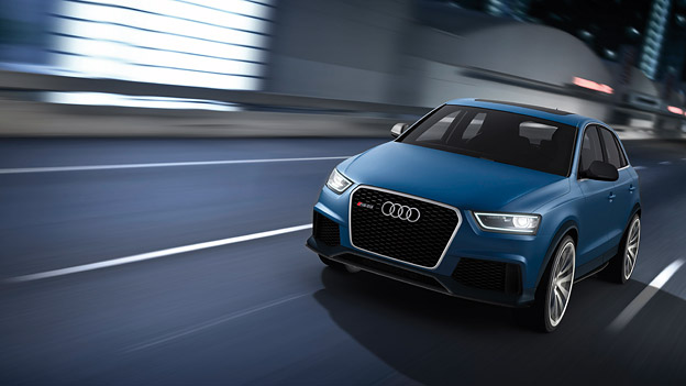 Audi RS Q3 Concept Front