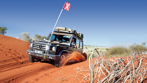 Australien Outback Offroad Reise Mercedes