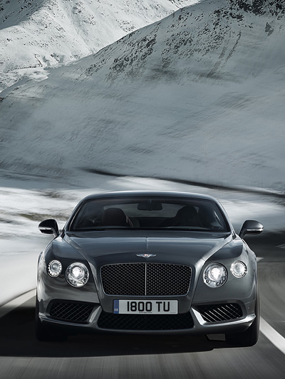 Bentley Continental GT GTC Front