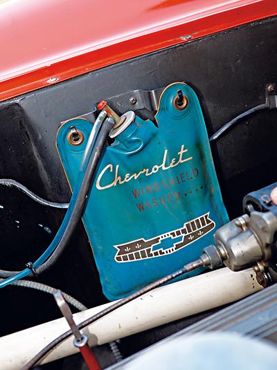 Chevrolet Corvette C1 1953 Test Scheibenwischwasser