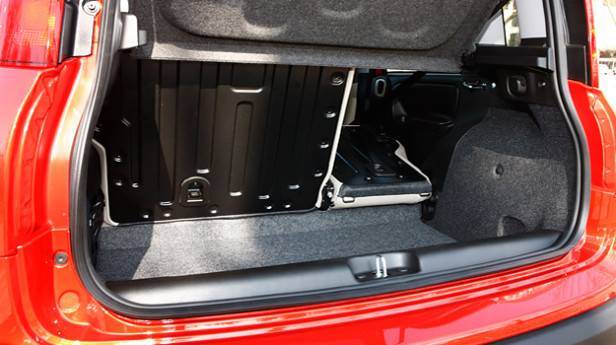 Fiat-Panda-Kofferraum