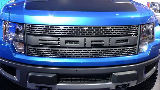 Autosalon New York Ford F-150 SVT Raptor