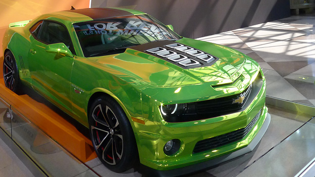 Autosalon New York Hot Wheels Chevrolet Camaro