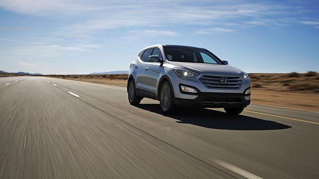 Hyundai Santa Fe Seitenansicht