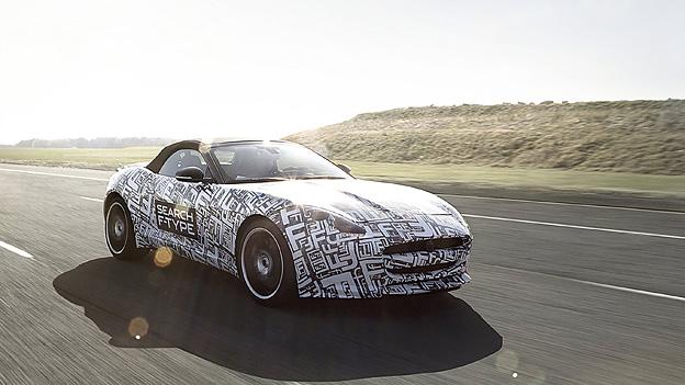 Jaguar F-Type Front