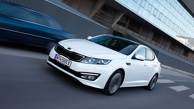 Kia Optima Active Pro 1,7 CRDi Test
