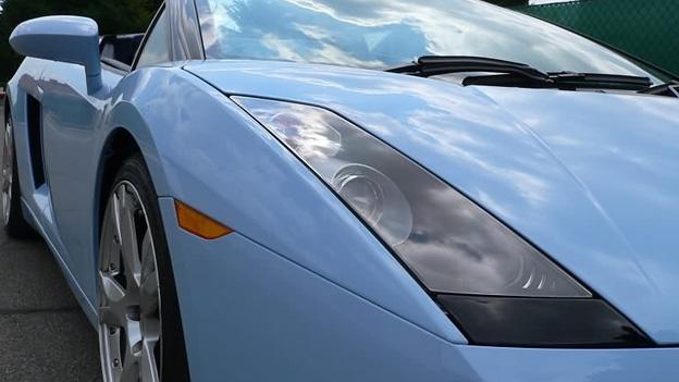 Lamborghini gallardo spyder rod stewart