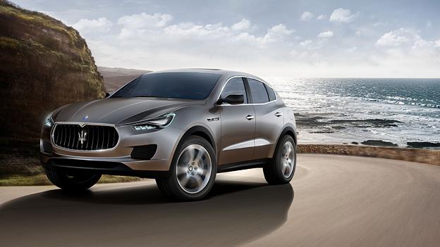Maserati Kubang Front Seitenansicht