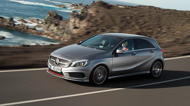 Mercedes-Benz A-Klasse Front